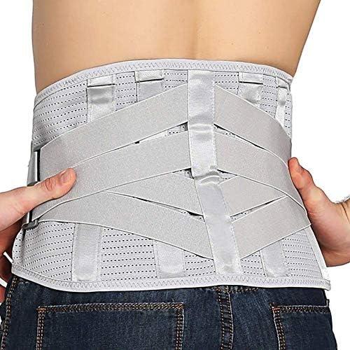 自己発熱 ウエストサポート 腰ブレース ランバーサポートベルト ために 坐骨神経痛 側わん症 椎間板ヘルニア 調整可能 と 取り外し可能 パッド ために 男性& 女性たち (Size : L)