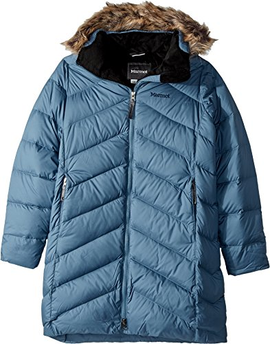 Marmot Kids Girl's Girls' Montreaux Coat (Little Kids/Big Kids) Storm Cloud Large by Marmot