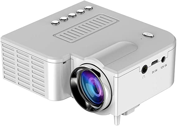 Fercisi Mini Portable LED Projector 1080P Multimedia Home Cinema Theater Video Projectors