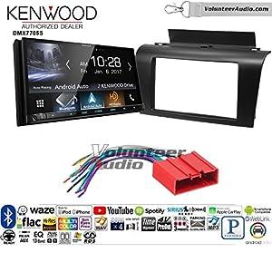 Volunteer Audio Kenwood DMX7705S Double Din Radio Install Kit with Apple CarPlay Android Auto Bluetooth Fits 2004-2009 Mazda 3