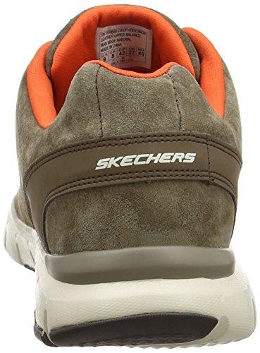 Skechers flex Bror Vigor Zapatillas Para nbsp;natural Skech Hombre Deporte De prqF5pw