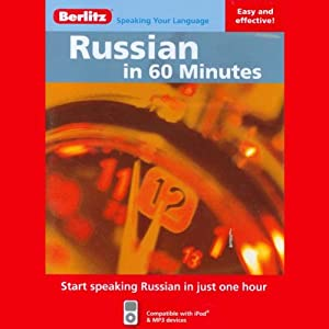 Russian in 60 Minutes Audiobook