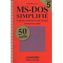 Ms-dos 5.0 simplifie version 5