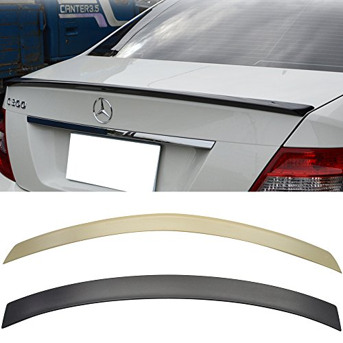 2008-2014 BENZ C Class W204 4Door AMG Trunk + OE Style Roof Spoiler Unpainted ABS Amazon#