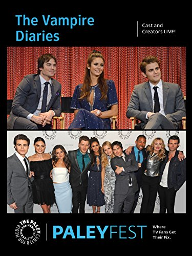 The Vampire Diaries  Cast And Creators Live At Paleyfest