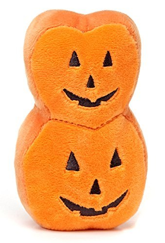 Peeps Limited Edition Halloween Stacked Pumpkin Plush - -