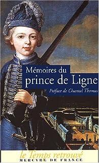 Mémoires par Charles Joseph de Ligne
