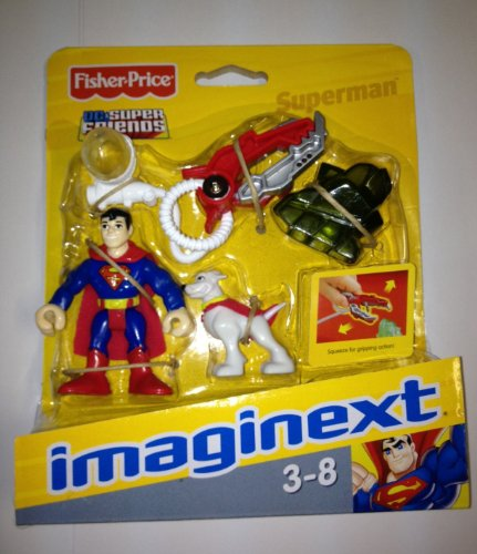 Fisher Price Imaginext DC Superfriends Superman