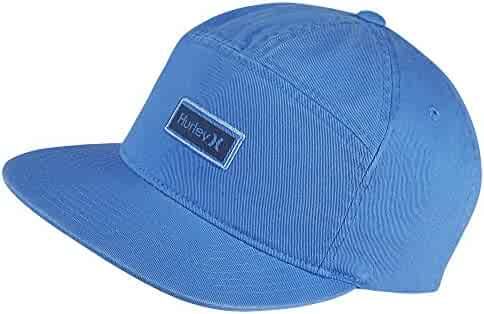 Hurley Men s Octane Adjustable Enzyme Stone Wash Snapback Baseball Hat  Active Athlete 8c864ffb1400