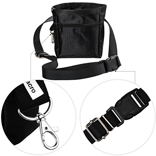 Zacro Dog Treat Training Pouch Bag With Adjustable Strap