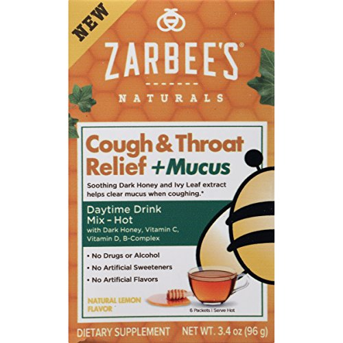 Zarbee's Naturals Cough & Throat Relief + Mucus Daytime Drink