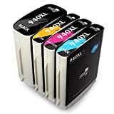 hp officejet pro 8000 ink - MIROO Compatible Ink Cartridge Replacement for HP 940XL (Black,Cyan,Magenta,Yellow , 3-Pack)