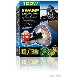 Exo Terra Swamp Glo Basking Spot Lamp, 100-Watt