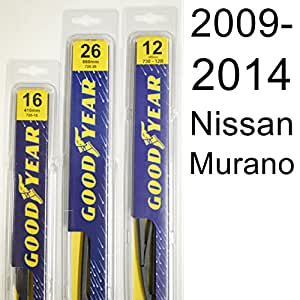 Amazon Com Nissan Murano 2009 2014 Wiper Blade Kit