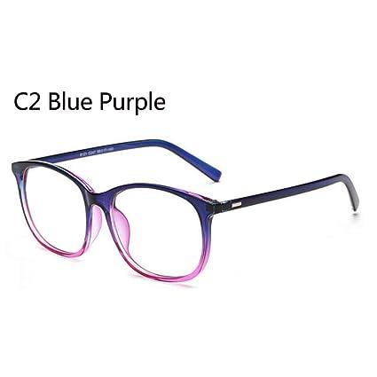 860c30493b YMTP Mujeres Anteojos Diseñador Oval Rose Aleación Marco Imprimir Mujeres  Ópticas Clear len Gafas Unisex Anteojos