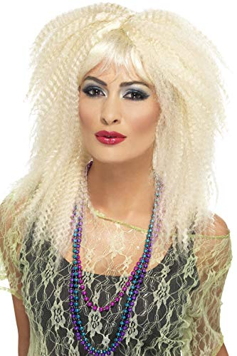 Smiffys 80s Trademark Crimp Wig]()