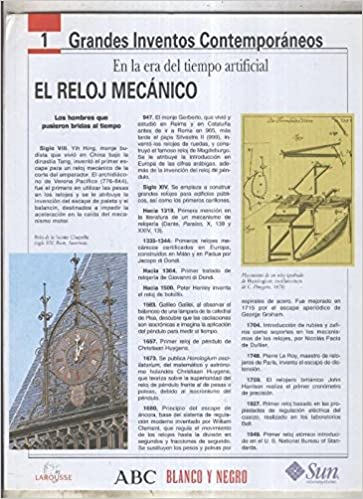 Grandes Inventos Contemporaneos numero 01: El reloj mecanico: Varios: Amazon.com: Books