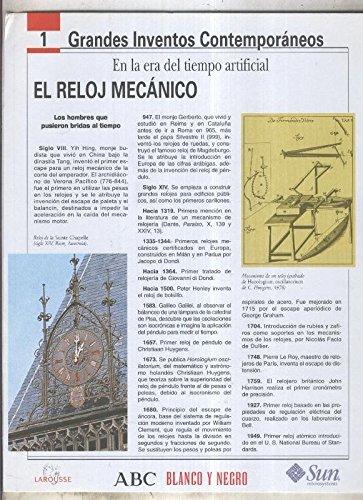 Grandes Inventos Contemporaneos numero 01: El reloj mecanico Textbook Binding – 1970