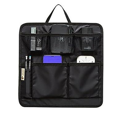 79bdf75d32ec バッグインバッグ リュック 10ポケット 収納整理 miniバッグ 小さめ 軽量 ナイロン インナーバッグ インナー