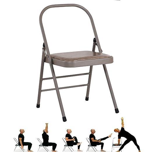 HMJY Silla Plegable de Yoga, Silla Invertida de Yoga, Silla ...