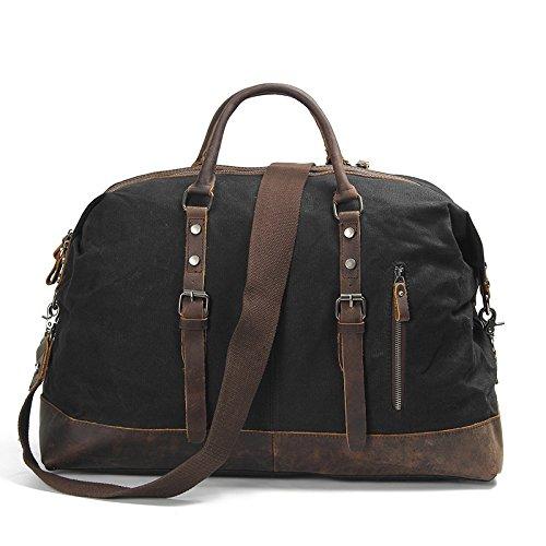 mefly Trend Agua Densidad maletín bolso de bandolera bolsa, verde militar negro