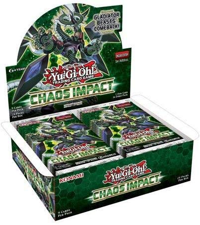 Yugioh Chaos Impact Booster Box 1st Edition TCG 24 Packs Factory - Edition Yu Oh Gi Box Booster
