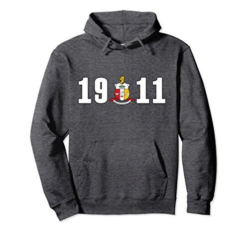 Unisex Kappa Alpha Psi Fraternity, Inc. Hoodie Large Dark (Kappa Classic Sweatshirt)