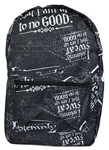 Harry Potter Solemnly Swear Marauders Map All Over Print Backpack (Harry Potter Snitch)
