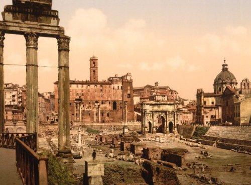 Italy Photograph - Forum Boario, Rome, Italy 1890s vintage style photograph Vintage style photo p d