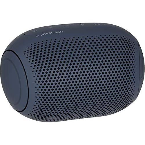 chollos oferta descuentos barato LG XBOOM Go PL2 Azul Marino Altavoz Bluetooth de 5W de Potencia con Sonido Meridian autonomía 10 Horas Bluetooth 5 0 protección IPX5 USB C comandos de Voz Google y Siri
