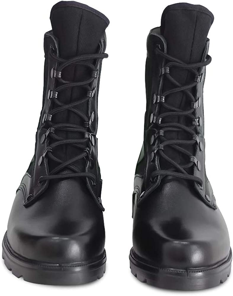 PANY Men/'s Military Combat Boots Outdoor Jungle Motorcycle Tactical Boots