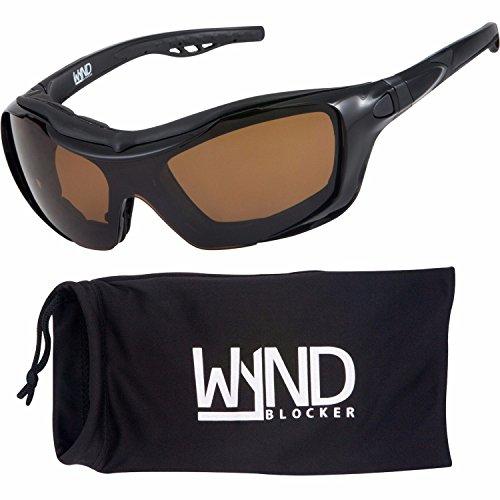 WYND Blocker Polarized Riding Sunglasses Extreme Sports Wrap Motorcycle Glasses