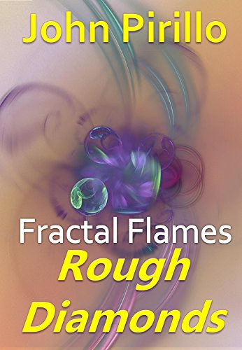 Fractal Flames: Rough Diamonds -