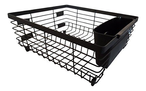 Kitchen Counter Dish Drying Rack or Sink Dish Drainer with R