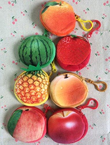 Kentop Monedero con Forma de Fruta Linda Billetera,9 * 8.5CM ...