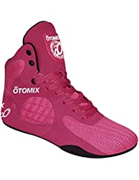 Pink & Black Stingray Escape Bodybuilding Weightlifting MMA & Boxing Shoes