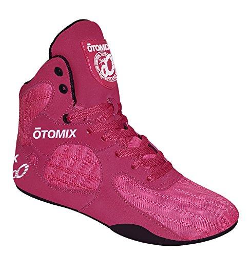 Otomix Men's Stingray Escape Bodybuilding Lifting MMA & Wrestling Shoes Pink & Black 9 ()