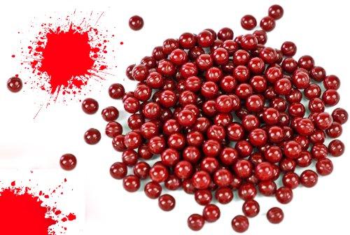 1000 Farbkugeln Farbmunition Munition Kugel Softair rot