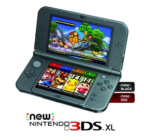 nintendo new 3ds xl red discontinued. Black Bedroom Furniture Sets. Home Design Ideas