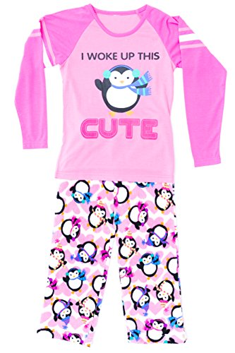 Just Love Two Piece Girls Pajamas Set,Cute - Cute With Girls