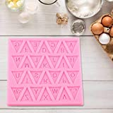 Backing Mold, Soft Silicone Mini Letters Handmade