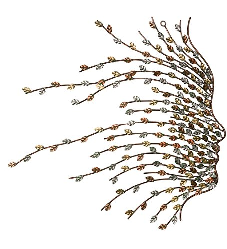 Wind & Weather Metal Willow Branch Face Wall Art - 20.5 W x 19.5 H x .25 D ()