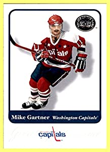 2001-02 Greats of the Game #75 Mike Gartner WASHINGTON CAPITALS