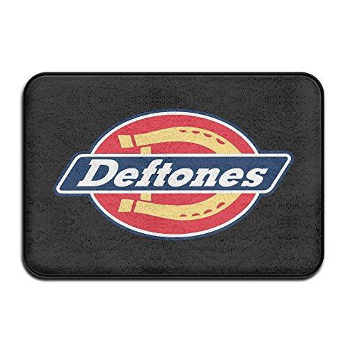 Deftones Rock Metal Band Non-slip House Garden Gate Carpet Door Mat Floor Pads