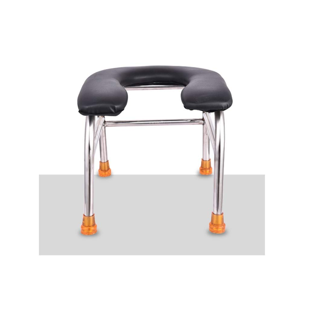 Size : 33x31x31cm AOIJV Non Slip Shower Stool Ergonomics Easy To Assemble Stable Shower Stool For Elderly Ideal For People With Balance Or Mobility Issues