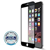 iPhone 7 plus Screen Protector Glass, iPhone 7 Screen Protector Glass, COWIN iPhone 7 Tempered Glass Screen Protector for Apple iPhone 7 (iPhone 7 plus Black))