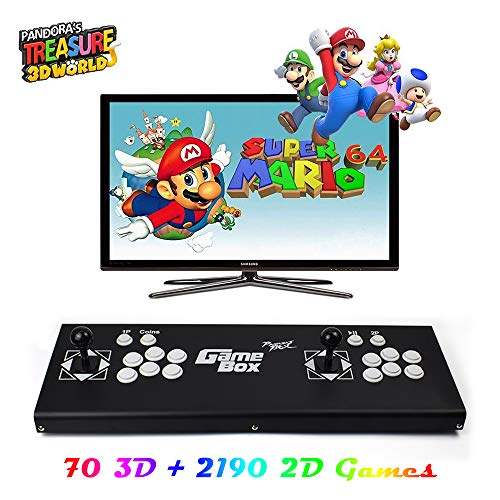 XFUNY Arcade Game Console 1080P 3D & 2D Games 2260 in 1