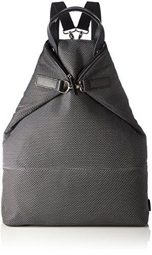 Jost Kopenhagen X-Change 3-Way-Bag L Rucksack, 22.4 Liter, Schwarz 008 Silber