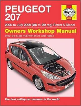 Peugeot 207 petrol diesel service and repair man 06 09 haynes peugeot 207 petrol diesel service and repair man 06 09 haynes publishing 9781785210198 amazon books fandeluxe Gallery