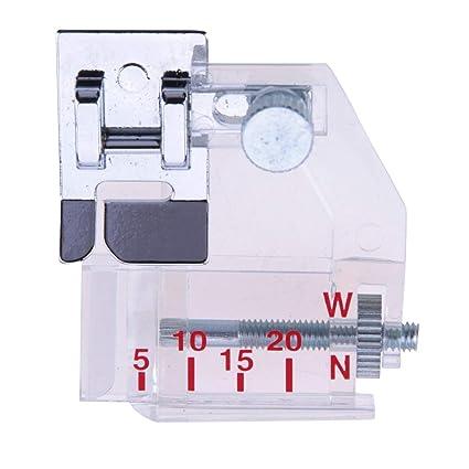 Amazon CacysStore 40pcs Bias Binding Foot Silver Adjustable Stunning Sewing Machine Binding